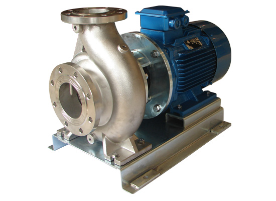 croos end suction pump